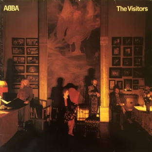 ABBA ‎- The Visitors (LP) (VG-/G+)
